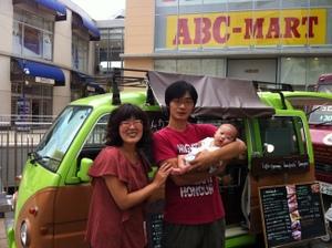 赤ちゃん連れで移動カフェオーナーに挑戦の画像1