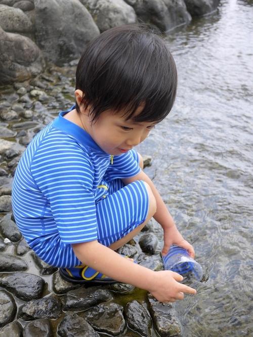 川遊び初心者キッズは二子玉川へ!のタイトル画像