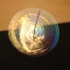 牛乳パックで作る「キラキラレインボーコマ」のタイトル画像