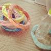 輪投げを手作りしよう!家にあるもので簡単、かわいい輪投げの作り方のタイトル画像