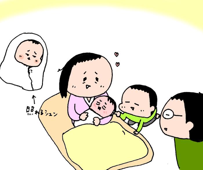 いつ産まれても大丈夫!?いよいよ出産を迎え、誕生の瞬間!! ハナペコ絵日記<6>の画像6