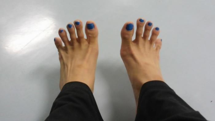 足のゆがみ・疲れを予防する!足指エクササイズと立ち方の画像1