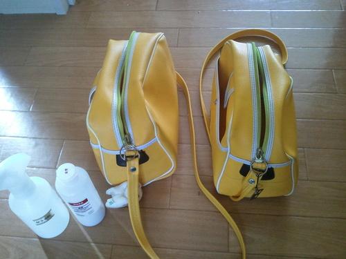 すぐに黒ずむ幼稚園バッグを簡単にきれいにする方法のタイトル画像