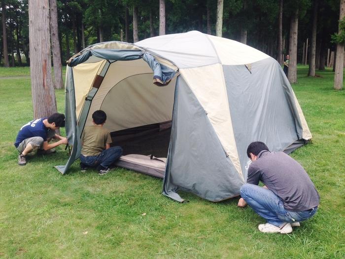 2歳の子連れキャンプ!キャンプ初心者でも楽しめたオートキャンプ場でのキャンプ体験談の画像2