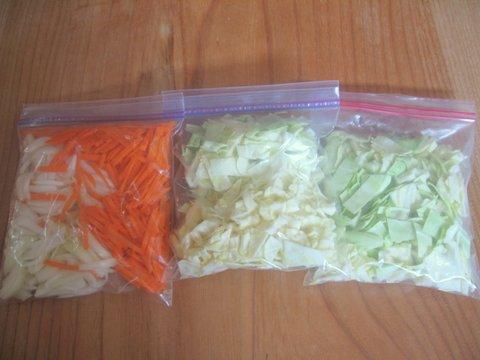 夏休みのお昼ごはんを簡単に作る時短ワザ!野菜はまとめて切って冷凍!の画像1