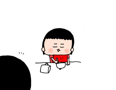 2歳手前遊び食べをするムスメ…これは譲れない!遊び食べに対する母の姿勢は ハナペコ絵日記<14>の画像7