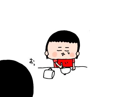 2歳手前遊び食べをするムスメ…これは譲れない!遊び食べに対する母の姿勢は ハナペコ絵日記<14>の画像11