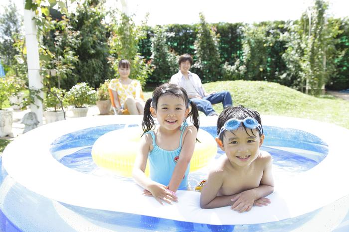 夏はお家で水遊び!ビニールプールを選ぶポイントとは?の画像1