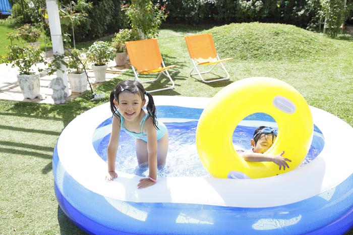夏はお家で水遊び!ビニールプールを選ぶポイントとは?の画像2