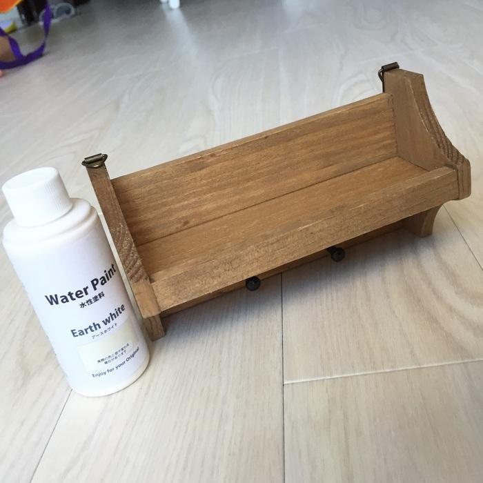セリアの木製小物にもうひと手間♪プチプラでおしゃれインテリアに変身♬の画像4