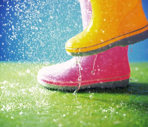 雨上がりこそお散歩にでかけよう!予定がない日、雨が降った時の子どもとの過ごし方!のタイトル画像