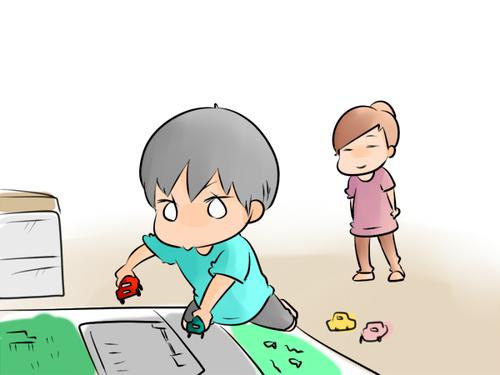 男子が大好きな「戦いごっこ」!兄妹の遊び方の違いを比較すると… ~空色日和~のタイトル画像