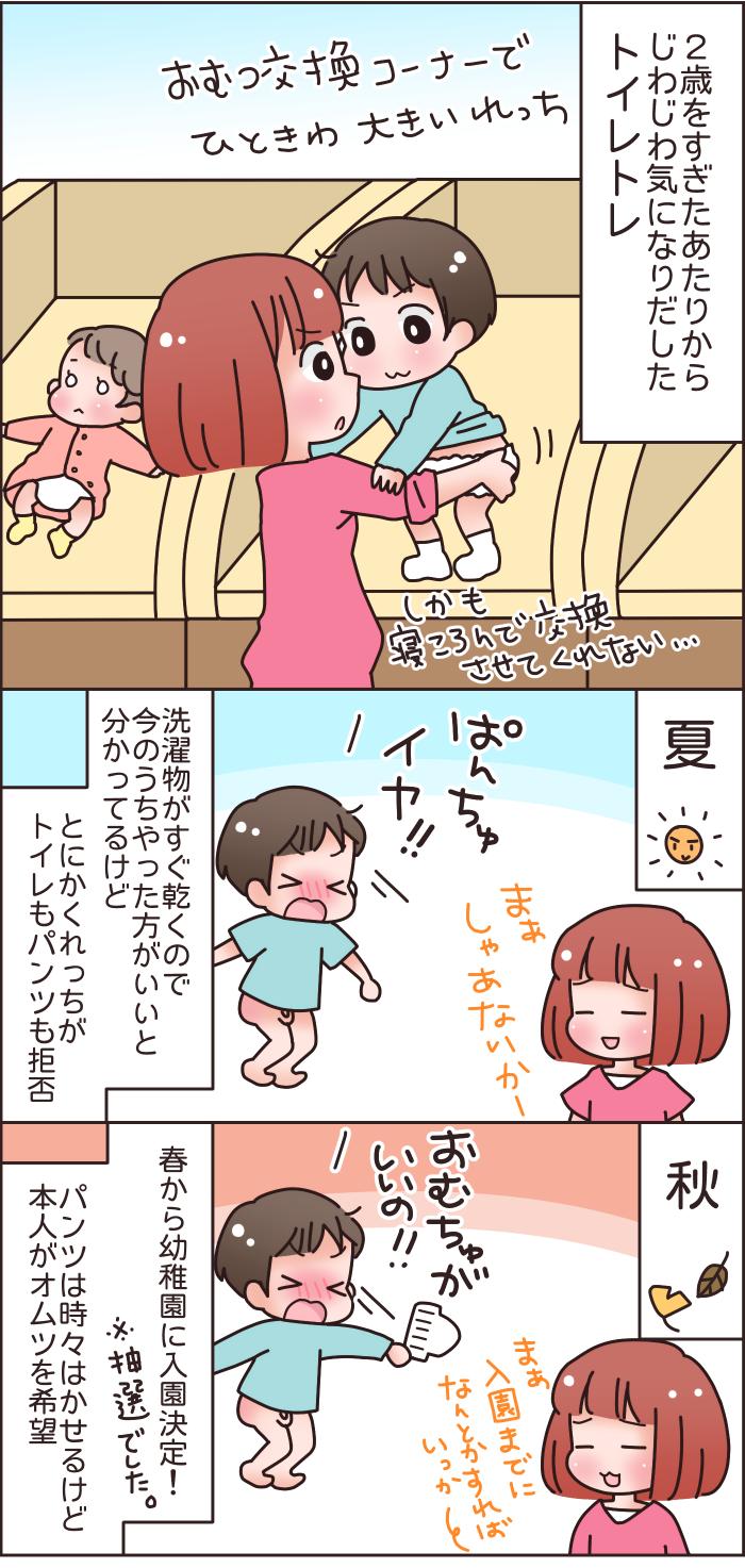 幼稚園入園までに間に合う!?進まなかった息子のトイレトレーニングの話の画像2
