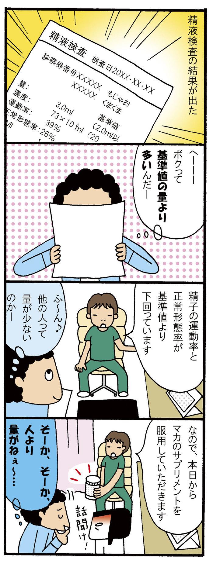 【妊活】男性不妊かもと思ったら?旦那、はじめての精液検査体験の画像1
