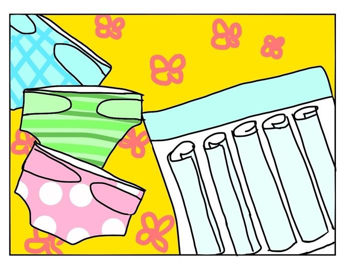 紙おむつと布おむつの違いとは?私の布おむつ育児体験談!の画像1