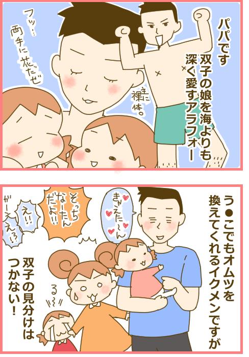 ★新規連載★田仲ぱんだのきゅんかわ♡ふたご育児、はじまります!の画像2