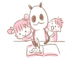 私が子どもの似顔絵を描き始めてから、子育ての不安が一気に解消された話のタイトル画像