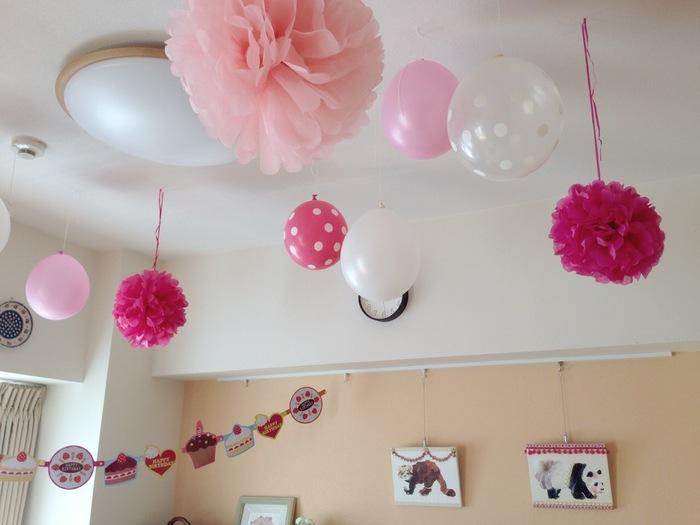 お誕生日パーティーの飾り付け♡3つのマストアイテムの画像2