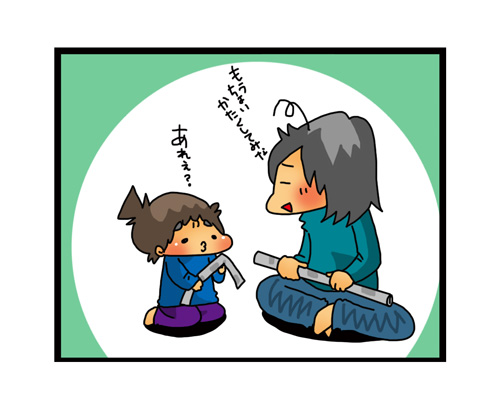 おもちゃを買うのはちょっと待った!手づくりおもちゃのススメ ~親BAKA日記第17回~の画像6