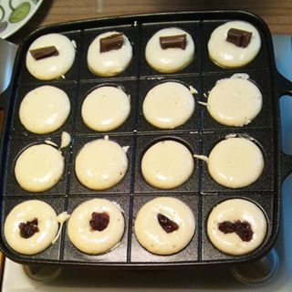 週末の朝ご飯に!たこ焼き器で作るコロコロホットケーキの作り方のタイトル画像
