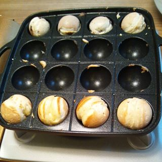 週末の朝ご飯に!たこ焼き器で作るコロコロホットケーキの作り方の画像2