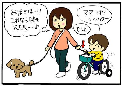 息子と犬との散歩を快適に!?最終手段は、この方法だった!【No.36】のタイトル画像