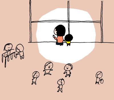 朝のお別れが寂しい4歳の息子…とあるきっかけで希望の光が! ハナペコ絵日記<35>の画像2