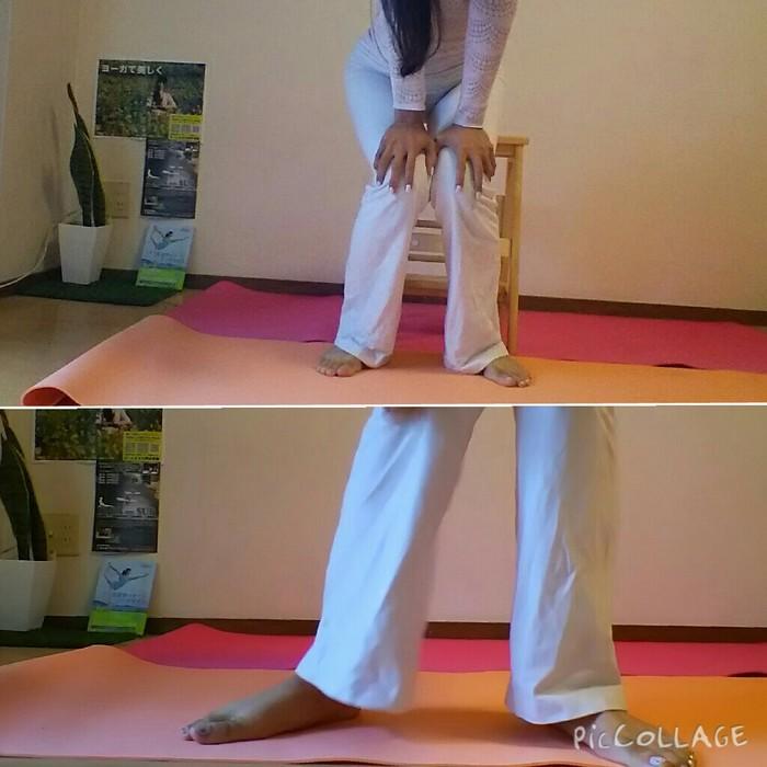膝を痛めない立ち方!膝痛予防解消エクササイズの画像1
