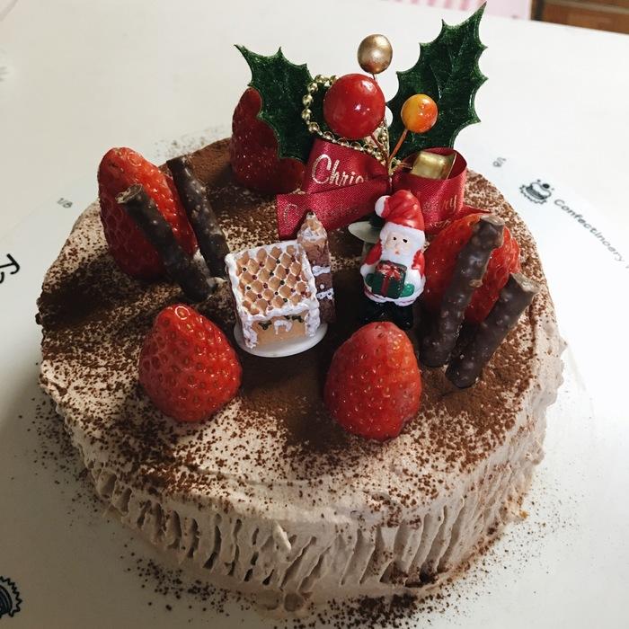 楽ちん!今年のクリスマスケーキは生チョコクリームでいかが?の画像4