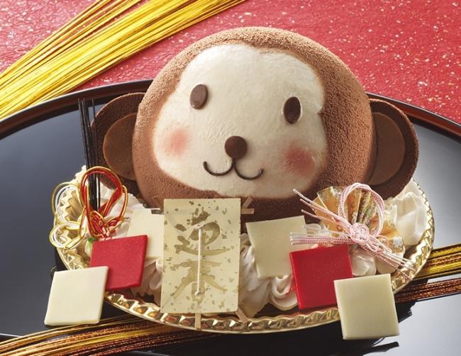 干支ケーキ「おめでとうでござる」で新年を祝おう!の画像1