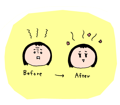 シンプルだけど1番効く!育児ストレス解消法はコレに限る! ハナペコ絵日記<42>の画像7