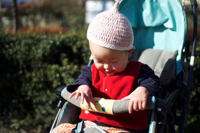 ベビーカー嫌いの娘が自ら乗った!簡単DIYおもちゃ「クルクルどうぶつハンドル」の威力がスゴいの画像2