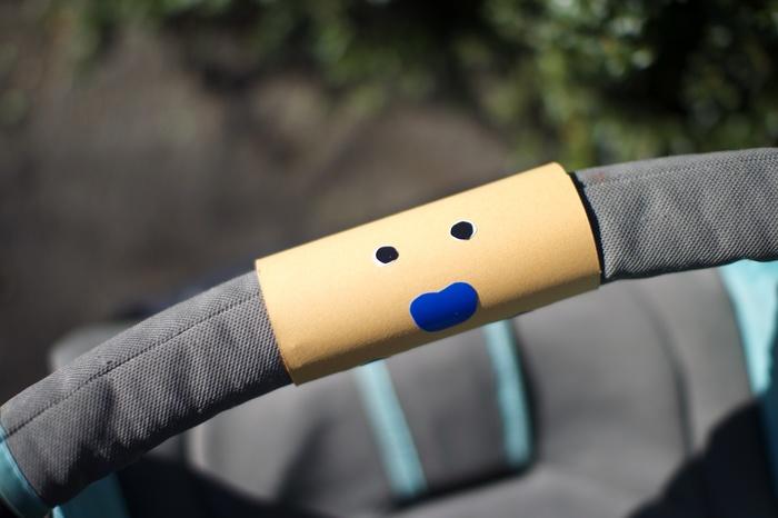 ベビーカー嫌いの娘が自ら乗った!簡単DIYおもちゃ「クルクルどうぶつハンドル」の威力がスゴいの画像3