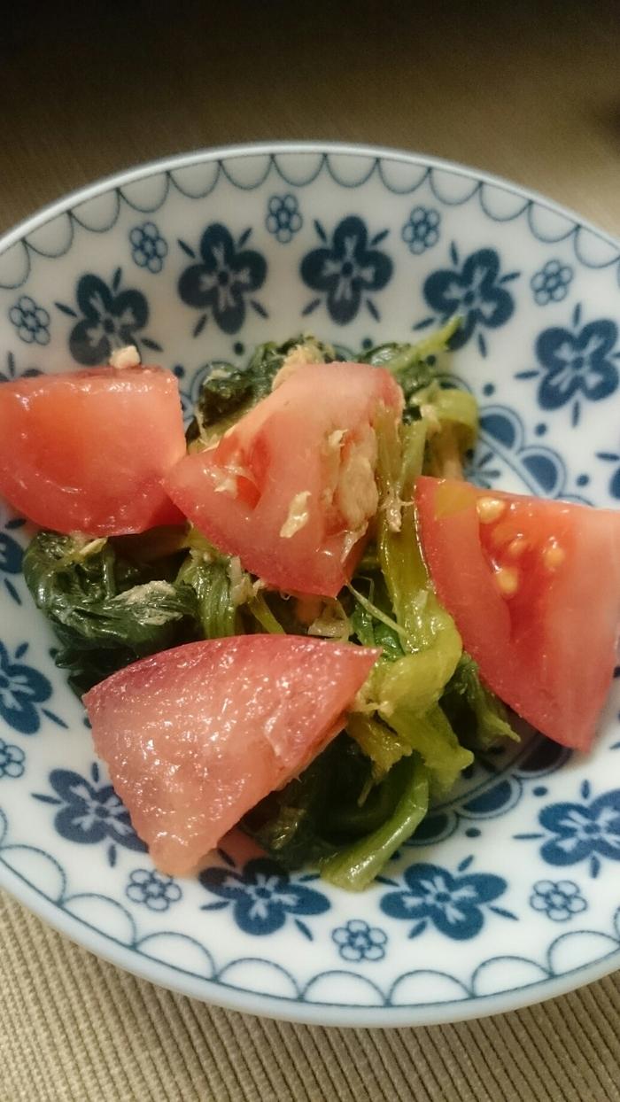 サラダにパンにグラタンに…常備菜「ほうれん草のおひたし」のアレンジレシピの画像1