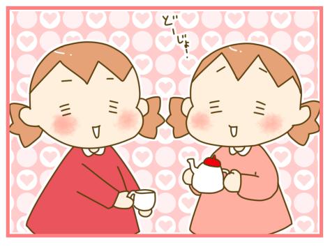 双子だからこそのエンドレス!?(笑)ハマりだしたら終わらない、お茶会の話の画像1
