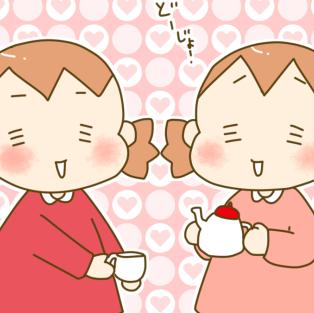 双子だからこそのエンドレス!?(笑)ハマりだしたら終わらない、お茶会の話のタイトル画像