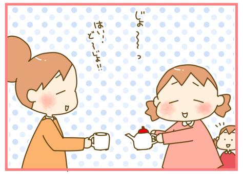 双子だからこそのエンドレス!?(笑)ハマりだしたら終わらない、お茶会の話の画像2