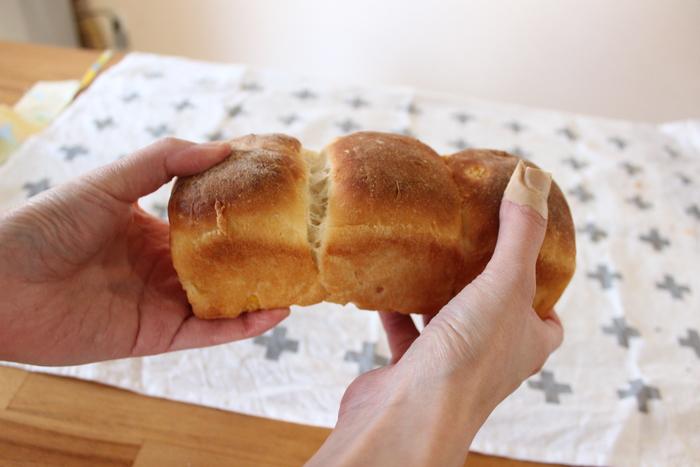 おかずパンの定番にいかが?粒コーンたっぷり♡ふわふわコーンブレッドの画像10