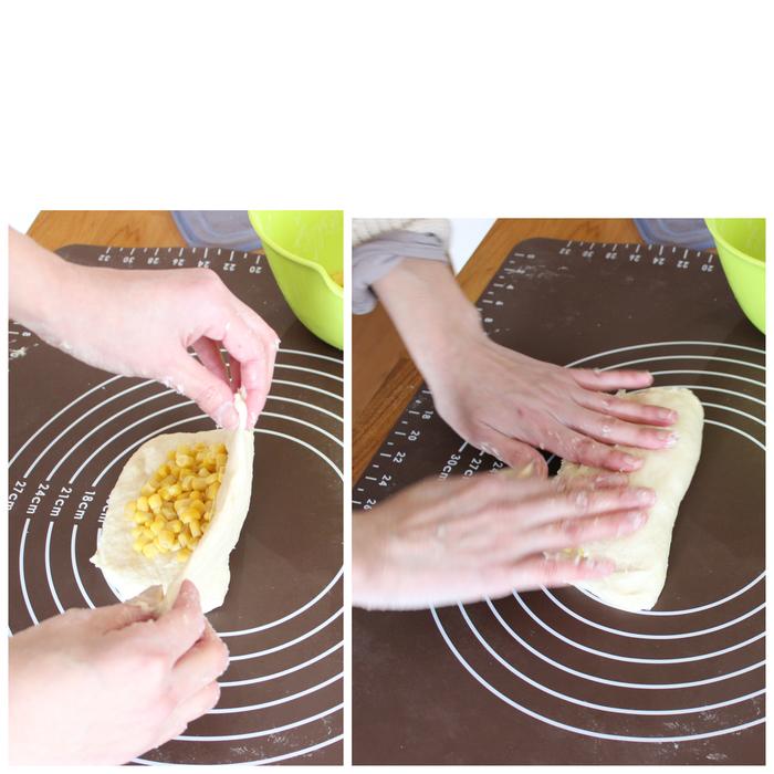 おかずパンの定番にいかが?粒コーンたっぷり♡ふわふわコーンブレッドの画像5