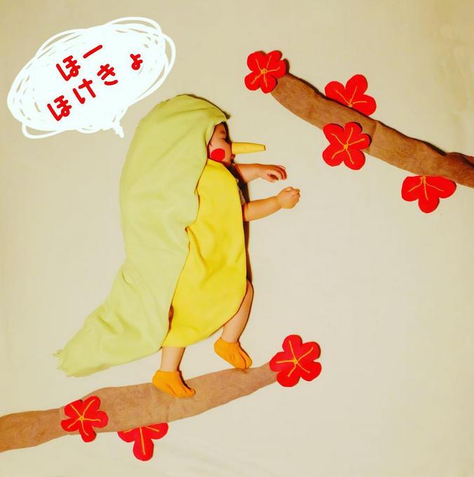 すやすや寝てる我が子をアートで飾ろう!人気の「寝相アート」が可愛い♡の画像1