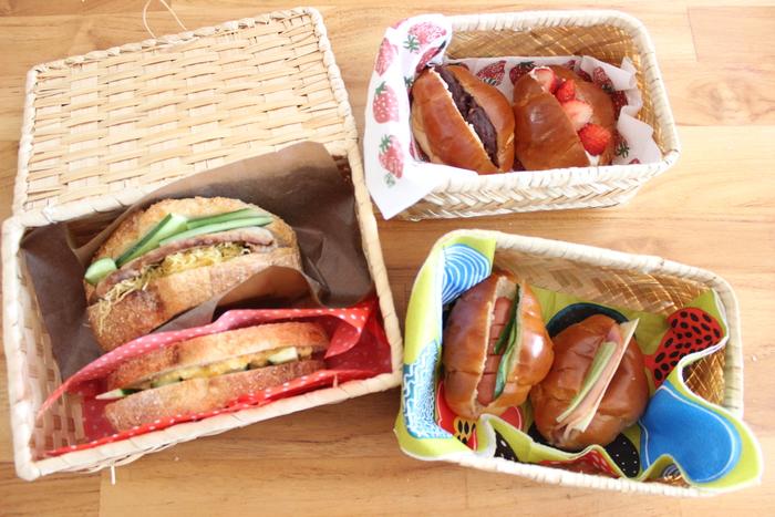 行楽シーズン到来♡バターロールとカンパーニュで見た目も可愛いサンドイッチ弁当をつくろう!の画像11