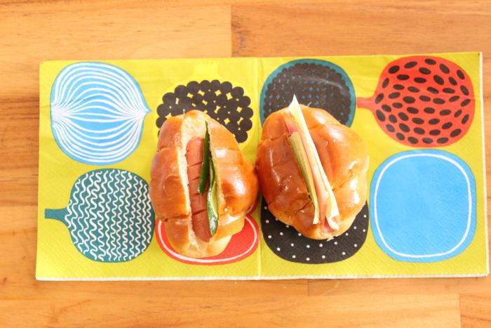 行楽シーズン到来♡バターロールとカンパーニュで見た目も可愛いサンドイッチ弁当をつくろう!の画像2