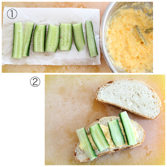 行楽シーズン到来♡バターロールとカンパーニュで見た目も可愛いサンドイッチ弁当をつくろう!の画像7