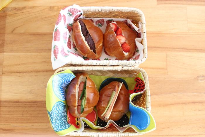 行楽シーズン到来♡バターロールとカンパーニュで見た目も可愛いサンドイッチ弁当をつくろう!の画像6