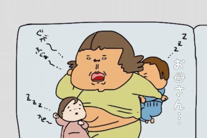 子どもに添い寝してたら、背中が冷たい…!?その理由に涙が止まらないの画像10