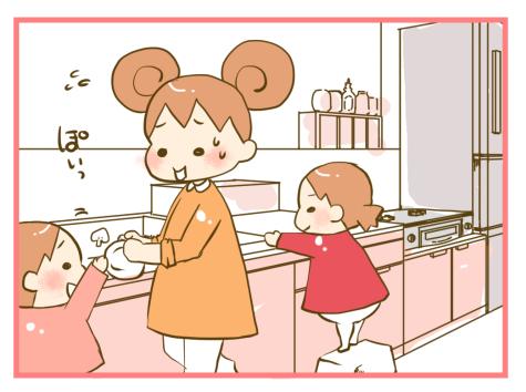 子どもが料理に興味を持ち始めたら?ダンボールで「簡単おままごとキッチン」を作ってみよう!の画像1