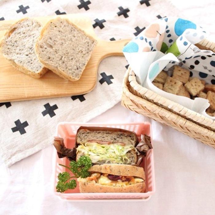 「ごま食パン」×「たまご」の組み合わせが無敵!サンドイッチの新定番レシピの画像1