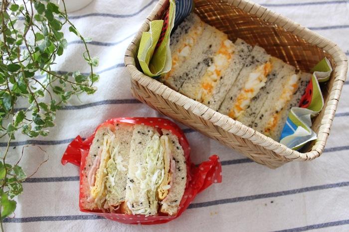 「ごま食パン」×「たまご」の組み合わせが無敵!サンドイッチの新定番レシピの画像10