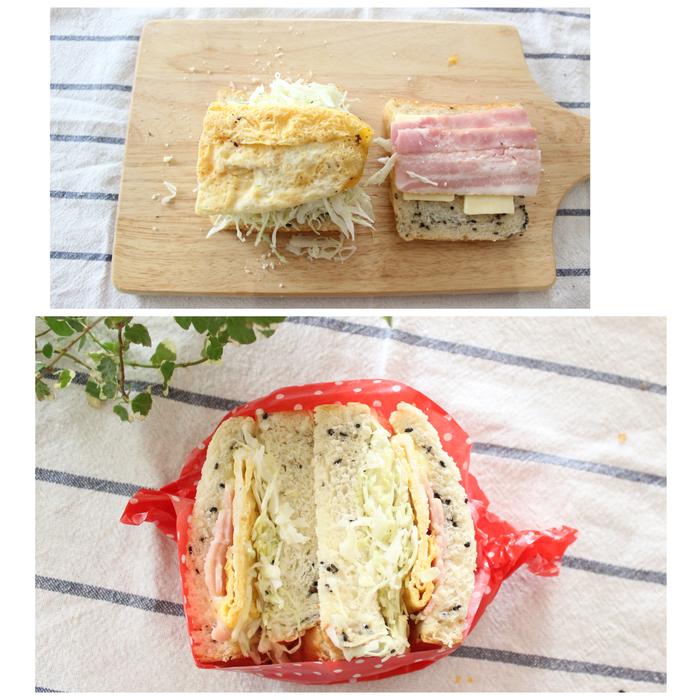 「ごま食パン」×「たまご」の組み合わせが無敵!サンドイッチの新定番レシピの画像9