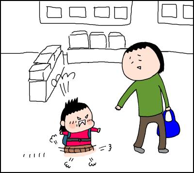 「負けない…!」2歳娘、イヤイヤ期。母との攻防戦はどうなる!?の画像3